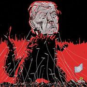 トランプ怪獣VS国連