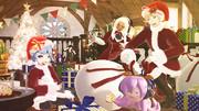 エルフたちのクリスマス準備