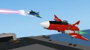 【Excel】超高空戦闘爆撃機・雷電Ⅱ【2013】