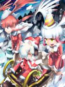 メリークリスマス!こうざんトリオ!