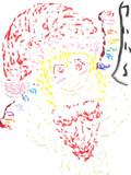 フランサンタ描こうとして失敗しました。
