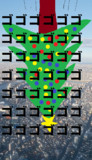 親方!!空から巨大なクリスマスツリーが!!