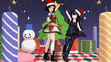 クリスマスは休戦な那珂ちゃんと軽巡棲鬼ちゃん