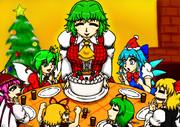 幽香さん家のクリスマスパーティー