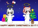 天使コノハちゃん博士&天使ミミちゃん助手(クリスマス2017)