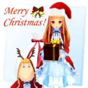 レア『Merry Christmas !』~スタンプっぽい何か~