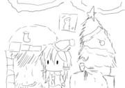 クリスマスの暇の隙間の落書き