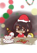 24日にパーティを開催するから待ってるのに、今だ誰も来ない・・・