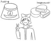 PIG (Pudding, Imagawayaki, Girl)