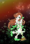 緑咲香澄・SD公式ポーズ