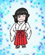 竜神智子  巫女version SD