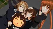 【MMD艦これ睦月型企画】文月達とおやすみなさい
