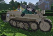 [Minecraft]ケッテンクラートの履帯を動かしてみた[Jointblock]