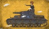 【壁画】Ⅳ号戦車D型
