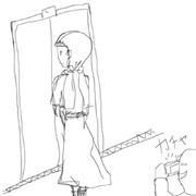 文学少女っぽいワンピースを着る痛い女子