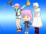 【MMD艦これ】妖精多摩さん/タマちゃん v3.50【モデル配布】
