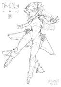 戦闘機×少女