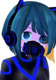 描き納めサイバーマスク