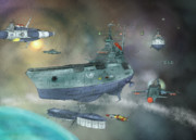 地球防衛軍日本支部第四艦隊