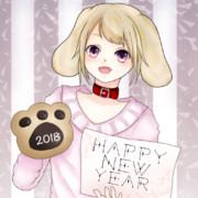 【フリーイラスト】犬系女子