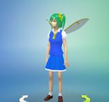 Sims4 大妖精ヘアー&衣装MOD無事完成!