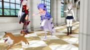 【MMDアズレン】犬とユニコーン【MikuMikuDance】
