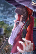 新年早々、雨・・・
