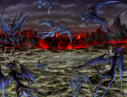 ♣RPGVXACE改変素材♣火山2_遠景
