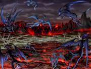 ♣RPGVXACE改変素材♣溶岩2_遠景