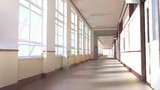 背景素材「廊下」