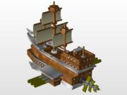 メルキア帝国魔導戦艦
