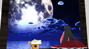 輝夜の月見