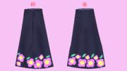 天海春香のロングスカート!!