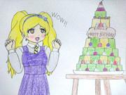 エミリーとロールケーキタワー