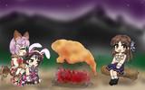 ありすと幸子とウサギ肉