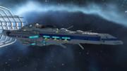 【Space Engineers】インディアナポリス級駆逐艦