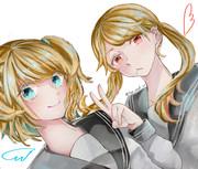 金髪×少女