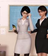 新しい新任女教師?