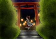 博麗神社の宴会と霊夢(2017年9月)