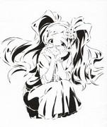 【切り絵】菜の花姫 エミリー