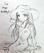 しおりちゃん誕生日おめでとう!