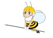 ミツバチのフレンズ