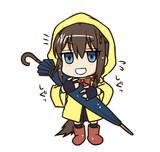提督の忘れた傘をお届けな時雨さん