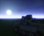 #Minecraft 夜空を見上げて  #JointBlock