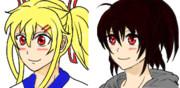 【顔グラ】マツリちゃんと夜空さん【RPGツクールMV】