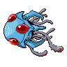 【ドット絵】メガドククラゲ  [Mega Tentacruel]