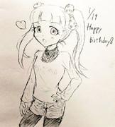 メアリー誕生日おめでとう!