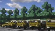 【minecraft】73式中型トラックのようなもの