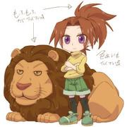 強い(だってライオン従えてる)