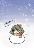 大雪にも負けない高垣楓さん